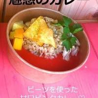 ハレノヒ食堂 魅惑のカレー(ピンク)