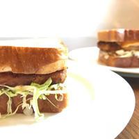 ORIBIO CafeDining カツサンドとポテトセット