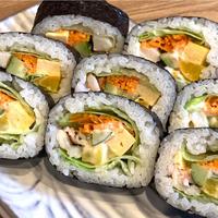 海鮮泉州巻き寿司(海鮮サラダ巻き仕立)【志賀】