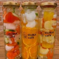 KUMAcafé ピクルス三本セット(さかいで三金時=金時人参.金時みかん.金時いも)