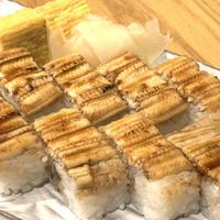 ふわふわ穴子棒寿司と甘玉子焼きセット 【日本酒バル志賀】