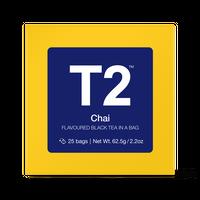 T2 紅茶 Chai(チャイ)ティーバッグ 25個入り