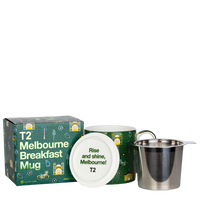 T2 マグ Iconic Melbourne Breakfast Mug with Infuser