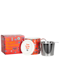 T2 マグ Iconic English Breakfast Mug with Infuser