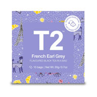 T2 紅茶 French Earl Grey(フレンチ・アールグレイ)ティーバッグ 10個入り