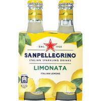 サンペレグリノ リモナータ(レモン) 200ml瓶×4本 (61054)
