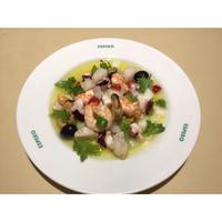 銀座エスペロ 魚介のサルピコン スペイン版シーフードサラダ(冷凍真空パック)
