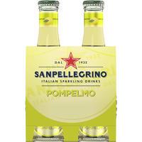 サンペレグリノ ポンペルノ(グレープフルーツ) 200ml瓶×4本 (140171)