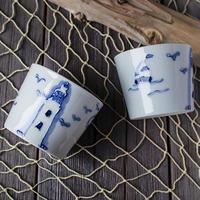 犬吠埼灯台フリーカップ(有田焼)
