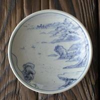 有田焼手描き平盃-銚子盃「長崎を臨む」