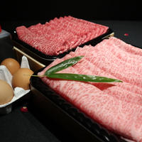 【特上】ふらの和牛・すき焼きセット(霜降りロース)〈4名様用・800g〉