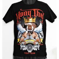 タイフェスで人気のムエタイTシャツ 王冠柄