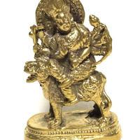 ドゥルガー女神 真鍮置物