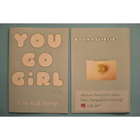 YOU GO GiRL zine issue4