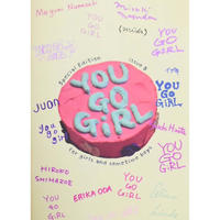 YOU GO GiRL zine  issue5(Special Edition) sticker SET