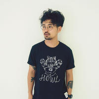 T-shirt - HOWL -  Black
