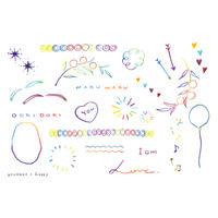 nijiiro tattoo - happy -
