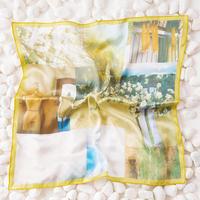 記憶のなかスカーフ - yellow -