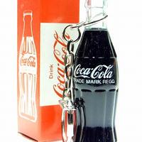 昭和ビンテージ コカ・コーラ キーチェーン付きミニボトル