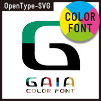GAIA color font(ガイア カラーフォント)