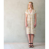 Heart of Lovikka_Dress Mona (yellow/white)