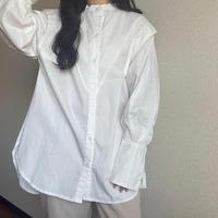 Broad fly yoke blouse