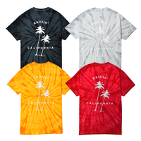 Chillin' california Tie Dye Tee