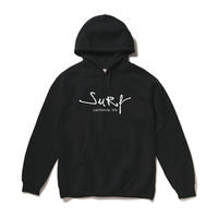 surf  hooded sweatshirt / Black