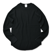 Thermal long sleeve Tee【Black】