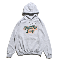 Shadow Logo  Hooded Sweatshirt / Ash
