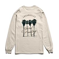 Los Angeles Good Feeling Long Sleeve Tee / Sand