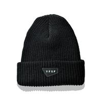 YFSF Patch Knit Cap 【Black】