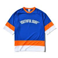 Hockey Dry Tee / Blue × Orange ×White
