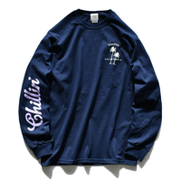 Chillin' California  Long Sleeve Tee【Navy】