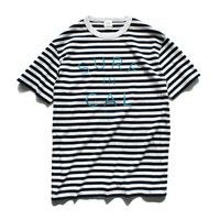 SURF IN CALIFORNIA Border Tee【Navy / White】