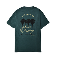 L.A. Good Feeling Pigment Dyed Tee / Forest Green