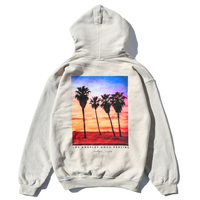 L.A photo graphic  Hooded Sweatshirt / Sand