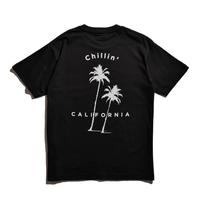 Chillin' california Organic cotton Tee / Black
