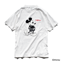 Mickey Mouse Tee  【White】