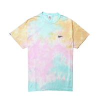 Small Logo Tie Dye Tee / Snow Cone