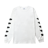 Standard Logo Long Sleeve Tee / White