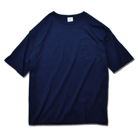 Big Silhouette Pocket Tee  【Navy】