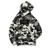 ALOHA GOOD LUCK BOX LOGO hooded sweatshirt【Snow Camo】