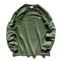 【予約商品】LA.CA Long Sleeve Tee【Washed Green】