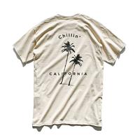 【7月再販予定】Chillin' california  Tee  【Sand】