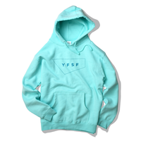 STANDARD LOGO hooded sweatshirt【Mint】