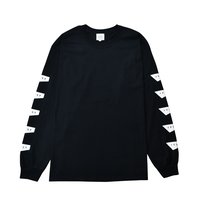 Standard Logo Long Sleeve Tee / Black