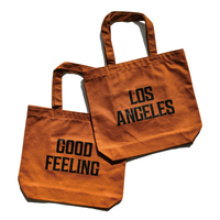 LA Good Feeling Tote Bag【Camel】