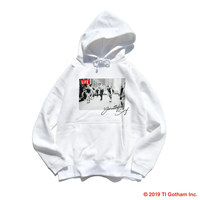 【予約商品】YouthFUL SURF × LIFE hooded sweatshirt【White】