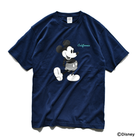 Mickey Mouse Tee  【Navy】